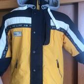 Куртка. весна, р. 8 лет 128 см, One by One. состояние отличное