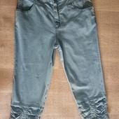 Турецкие шорты, капри. Поб 50 см. На бедра 100-104 см. Высокая талия
