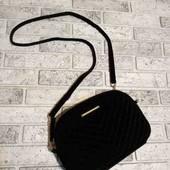 фирменая велюровая сумка
