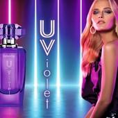 Парфюмерная вода для женщин U-Violet-цветочно-фруктовый.