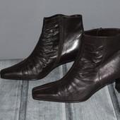 кожаные ботинки отличного качества. люкс! Австрия, почти новые. натур. кожа