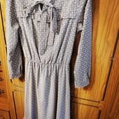 Платье миди винтажный стиль