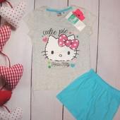 Красивенный комплект пижамка Hello Kitty 8л, супер качество!