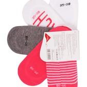 Пять пар! Трикотажные носочки - следы Esmara Германия размер 39-42
