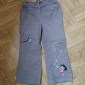 Классные штаны на девочку 2-3 года. Рост 98 см.