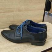 Італійські шкіряні туфлі Nicola Benson. Made in Italy