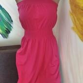 кэжуал платье с открытыми плечами, бандо. Смотрите мои лоты