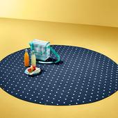 Круглое покрывало для пикника от Tchibo (Германия), размер XL