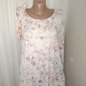 Красивая лёгкая блуза 16размер хл