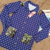Класні рубашки Чудовий колір фасон орнамент Супер оздоблення паєточками Не пропустіть 140-164