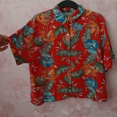 Красивая блуза оверсайз , приятная вискоза ! УП скидка 10%