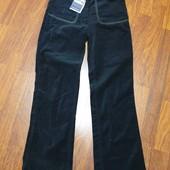 Новые велюровые штаны р.146-152 +-, смотрите замери, новые.