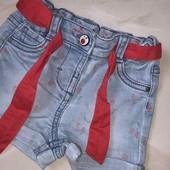 Стоп ,для модняшки❤ Фирменные джинсовые шортики,до года❤ Много лотов!