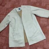 Замшевое пальто Primark uk12