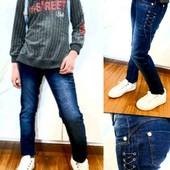 Супер-предложение❤стильн.подростк.джинсы на девочку р.23 стрейч.коттон.заужен.ставьте блиц!❤