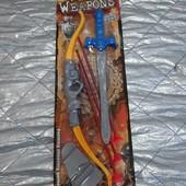 Набор меч ,лук,стрелы ,щит