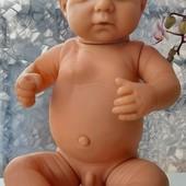Анатомическая кукла пупс Мальчик Реборн 44 см