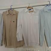 распродажа мужских рубашек+ кофт!!!! 6 шт+ 2  кофты