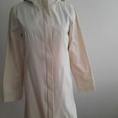 Легкий плащ пальто на весну H&M молочного цвета. S,M