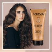 Маска для волос с кератином Keratin Therapy от Farmasi !!! 200 мл !!!