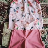 """Костюм """" блузка + шорты """""""