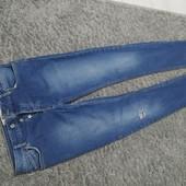 Люкс! Мужские мега стильные джинсы р.48 оч.хорошего сост
