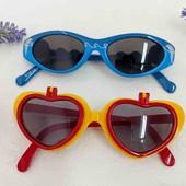 Очки солнцезащитные детские одним лотом