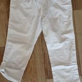 Хлопковые брюки/капри H&M, p.122(6/7)