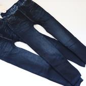 Теплые бесшовные лосины-джеггинсы под джинс на меху. Смотрите замеры