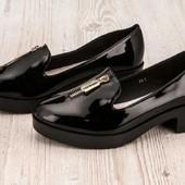 Туфли лаковые. Класснючие 35 р