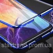 Магнитный чехол с защитным стеклом на Samsung Galaxy A51