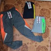 Трикотажні спортивні штани для хлопчиків від фірми Active Sports. 152-176рр