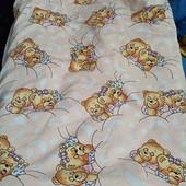 Детское одеяло деми.