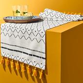 ☘ Чудова скатертина-доріжка для сервірування столу Tchibo (Німеччина) 40 * 180, нюанс