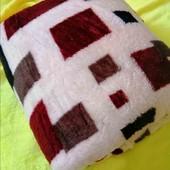 Скидка от 2-х шт!Дорогой супермягкий и нежный рельефный плед - покрывало Снежок! Качество Люкс!