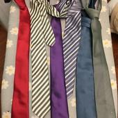 Яркие галстуки Cacharel и др. в идеальном состоянии, одним лотом 6 галстуков!!!