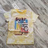 Модная футболка Серф р104, 4 года