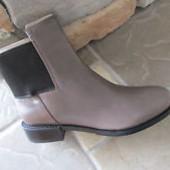 Clarks! качественные кожаные ботинки в хорошем состоянии