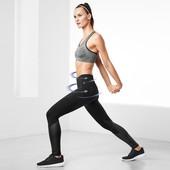 Фирменные спортивные утягивающие лосины, легинсы моделируют фигуру, размер 52-54 наш