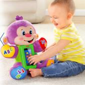 Развивающая игрушка Fisher-Price Умная обезьянка !!! Есть отделение для моб.тел.!!!