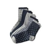 ☘ Лот 5 пар☘ Якісні бавовняні шкарпетки від tcm Tchibo (Німеччина), розміри: 35-37
