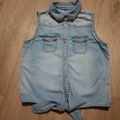 Рубашка для девочки 12-13 лет