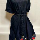 Яркие красивые платье р.56/60. Ткань штапель.