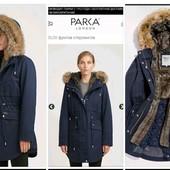 Фирменная теплая парка. куртка. Супер