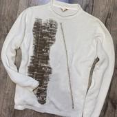 Джемпер реглан вискоза/котон + теплющий свитер! 46-48 р