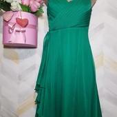Платье миди новое нарядное р s