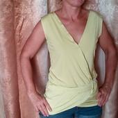 Блуза-туника на запах 44-46