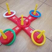 Игра для детей кольцеброс