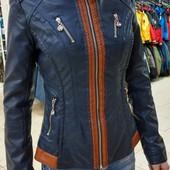 Куртка женская демисезонная кожзаменитель 44-46р. Распродажа
