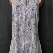 Мягенькое платье из вискозы с удлиненной спинкой, s/m